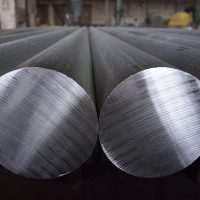 Big steel round bars
